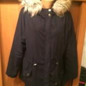 Куртка, парка, деми, размер 2ХL. New Look. состояние отличное