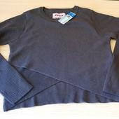 Класний моднявий укорочений свитер на дівчинку, розмір 146, бренд youngstyle Польша