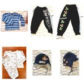 гардероб 7 вещей до 1,5 лет малышу хорошее состояние
