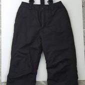 Очень классные лыжные штаны р.134-140,состояние новых