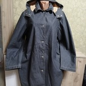 Собираем лоты!!! Стильная джинсовая куртка на теплом флисе, размер L-xl