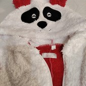 теплая пушистая пижамка-кигуруми, размер 110, фирма Sasha.