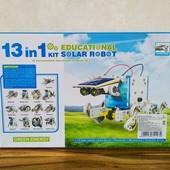 Конструктор робот на солнечных батареях Solar Robot 13 в 1   Детские конструкторы  Робот конструктор