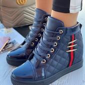 Женские ботиночки-сникерсы