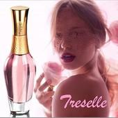 Цветочный женственный аромат парфюмированной воды Treselle 50 мл