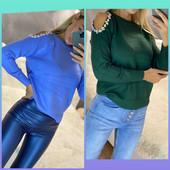 !!! Очень красивые кашемировые свитерочки с красивым плечи!!! Размер +- 44!! Собираем лоты!