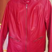 Куртка кожа lc waikiki цвeт красный, нюанс