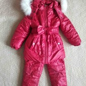 Красный зимний костюм