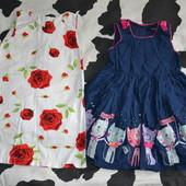 Платья 98-110см в лоте одно на выбор