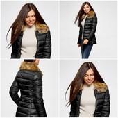 ❤️Oodji Фирменная теплая куртка пуховик❤️в новом состоянии L\XL