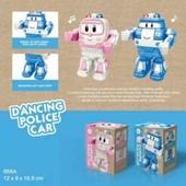 Робот 668A robocar poli на батарейках , игрушка свет/музыка