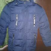 Зимняя подростковая курточка