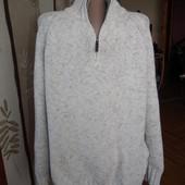 Идеальный теплый мужской свитер m&s,р.l