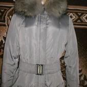 Женский пуховик зимний, размер 46-48