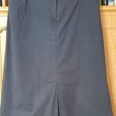 Спортивная юбка-карандаш для пышных форм, ткань стрейч, на подкладке размер 56-58