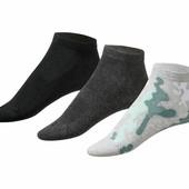 3 пары женских носочков от Crivit® Германия, верх сетка, размер 39-42.