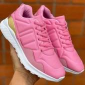 Женские демисезонные кроссовочки,розового цвета.