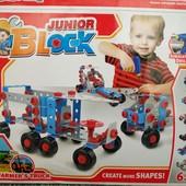 Конструктор Junior Block 5 в 1   Детский конструктор   Конструктор для мальчика  