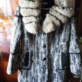 тёплое зимнее пальто. L
