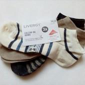 Три пары! носки Livergy Германия 39-42 размер