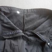Лыжные штаны утепленые байкой черного цвета S-M.