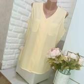 Рубашка блуза Вискоза XL