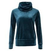 Esmara женская велюровая кофта пуловер худи Германия!