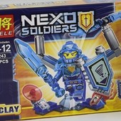 Конструктор lele 79243 Nexo Knights 6 видов аналог Lego, можно докупить по ставке