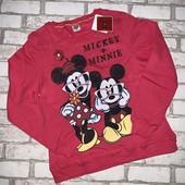 Стильный свитшот Disney внутри начес,размер на выбор!такой не купите нигде!)