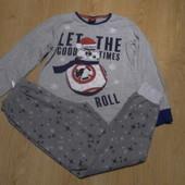 Пижама Star Wars кофта-х\б штаны-флисовые состояние очень хорошее