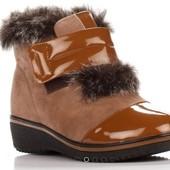 Шикарные, Оригинальные Зимние Женские Ботинки на меху