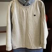 Кофта свитер в школу мальчику 8-9 лет Jasper Cornan