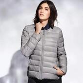 ❤️Esmara Германия❤️стильная легкая стеганая курточка шанелька евро 40