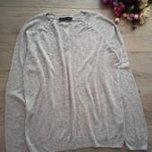 Лёгкий свободный свитерок. Рр uk 14, M,L. Очень хорошее состояние.