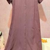платье халат 100% хлопок