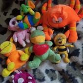 Мягкие игрушки, в лоте 7 штук,