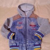 Детская куртка для дома,состояние хорошее,но есть нюансы,р.98-104 на 3-4 года