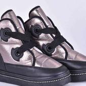 Не пропустите))Шикарные зимние ботинки 24,5см