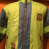 Куртка. деми, c высоким воротником. р. 7-8 лет 122 см, On Air. сост. отличное.