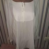 Біла легка блуза Esprit,розмір16(пог58)