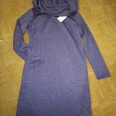 Платье новое с капюшоном на 48-52рр