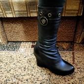 Ботинки  натуральная кожа и цегейка 41 р. 26 см