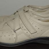 Закрытие кожаные туфли Ecco