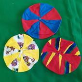 Береты шапочки для малышей (3 шт.)