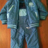 Зимний полукомбез и куртка