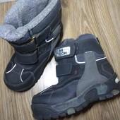 Aqua tex.  Trek Tex.  Неубиваемые и практичные ботинки. 19 см