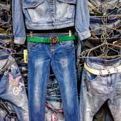 Новые стрейчевые джинсы, р. 27, поб 41 см, пот 38 см