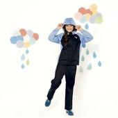 Классный костюм для дождливой погоды на девочку Crivit Германия размер 122/128
