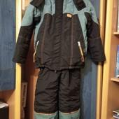 Зимний комбинезон(куртка+полукомбинезон) для мальчика