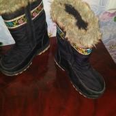 Сапожки зимние с защитой от снега р.28